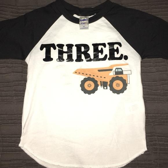 Three Year Old Birthday Shirt